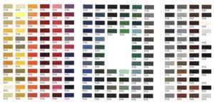 Tiger Coat Powder Coat Color Chart Fairfax Contractor