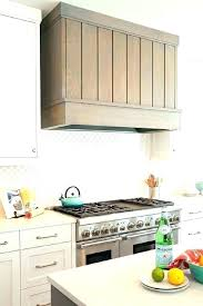 stainless steel kitchen hood. Chimney Range Hood Kitchen And Furniture Cabinets White Tile Gray Plank Stainless Steel