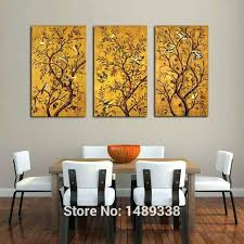 large framed wall art for dining room