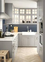 kitchen units ikea l shaped kitchen with traditional wall and base cabinets with grey doors and glass doors kitchen cabinets ikea malaysia