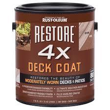 Rustoleum 4x Color Chart Restore 4x Deck Coat Rust Oleum