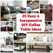 coffee table designs diy. Create A Beautiful Space With These 25 DIY Coffee Table Ideas. |  Coolcrafts.com Coffee Table Designs Diy R