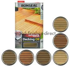 Ronseal Varnish Colour Chart Details About Ronseal Ultimate Protection Decking Oil 2 5 5 Litre Clear Or 5 Natural Shades