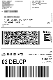 Online Shipping Labels Print Fedex Shipping Labels For India Woocommerce Plugin