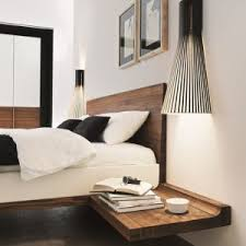 Kami Gray Interior Designer | Floating Headboard with Built-in Nightstand