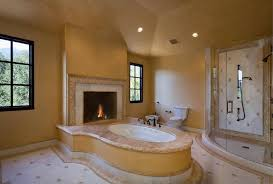 20 beautiful master bathroom designs with fireplaces housely part 73