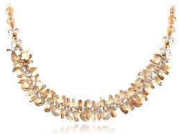 loading zoom light smokey topaz gathered cer honeycomb swarovski crystal element necklace