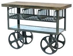 kitchen island cart industrial. Industrial Kitchen Island Cart Iron Trolley . L
