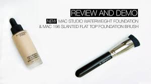 REVIEW & DEMO | <b>MAC</b> Studio Waterweight Foundation & <b>MAC</b> ...