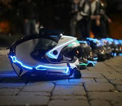 (Helm, LED, Beleuchtung)