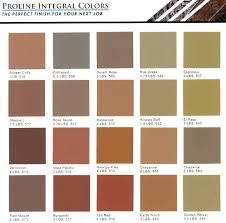Scofield Concrete Colors Classic Color Chart Of Acid Stains