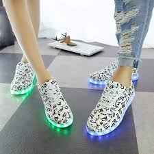 Musically Light Up Shoes Amazon Com Smtsmt Shoes Mens Sneakers Musical Notes Lace
