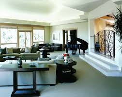 Black Piano Body Beside Comfortable Couch Right For Piano ...