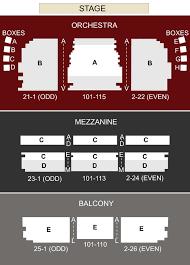 Shubert Theatre Boston Ma Seating Chart Stage Boston
