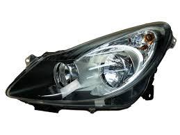 Headlamp Left New Original 93189361 Opel Corsa D