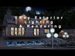 exterior night rendering vray 3ds max. vray exterior lighting tutorial 3ds max | rendering night in using - youtube