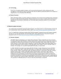 8 Import Export Business Plan Examples Pdf