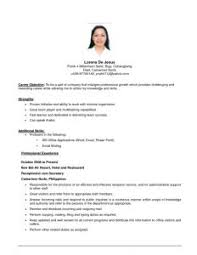 effective objective resume statements sample rgea with regard to 79 amazing effective resume samples how to write an effective objective for a resume