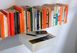 mind boggling invisible bookcases