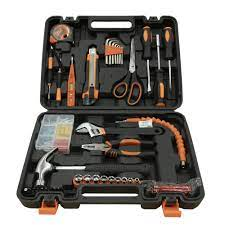 CHÍNH HÃNG]Bộ dụng cụ sửa chữa đa năng 43 chi tiết Kachi MK186 - Màu đen,  chất liệu bền bỉ, giá chỉ 345,000đ! Mua ngay kẻo hết!