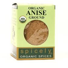 Spicely <b>Organic Anise Seeds</b> Ground - 25 LB Bulk / Wholesale ...