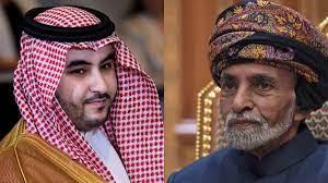 بالفيديو.. السلطان قابوس يستقبل الأمير خالد بن سلمان