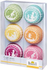<b>Набор</b> бумажных форм для выпечки кексов Birkmann ...