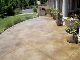 Stained Concrete Patio U2013 Decorative  20 On Home Design Pinterest