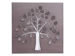 >30cm metal tree of life wall art frame with 3d effect