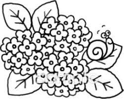 カタツムリ 紫陽花イラストなら保健室小学校幼稚園向け保育園