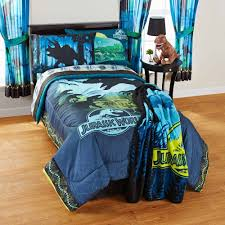 Jurassic World Kids Bedding Set Bed-in-a-Bag 100% Polyester Twin ...