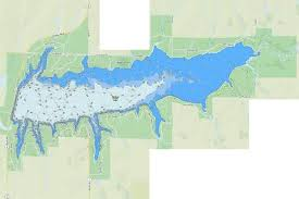 Winfield City Lake Fishing Map Us_ks_winfield Nautical