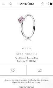 Womens Ring Size Chart Pandora Ring Size 52 Pandora Famous Ring Images Nebraskarsol Com