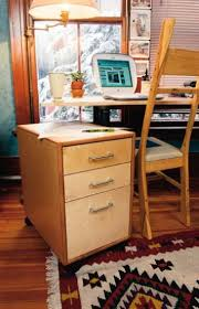 wood file cabinet plans. A Contemporary Mobile File Cabinet Popular Woodworking Magazine Wood Plans L