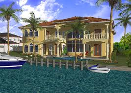 waterfront home plans