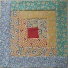 Easy log cabin quilt block I love log cabin blocks, they are ... & Easy log cabin quilt block I love log cabin blocks, they are limitless in  the different quilts you can make with one pattern. Adamdwight.com