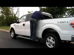 Automated Bed Access Running Board for Pickup Trucks - YouTube