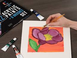 top 10 best acrylic paint reviews for beginners and professional artists