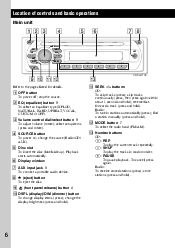 sony cdx gt110 wiring diagram sony image wiring sony cdx gt110 manual cdxgt110 radio cd player on sony cdx gt110 wiring diagram