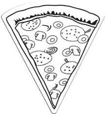 Small Picture Junk Food Pizza Coloring Page For Kids jdlo Pinterest Junk
