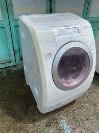 Máy giặt cũ nội địa National NA-V82 Giặt 8kg sấy khô 6kg