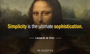 Leonardo Da Vinci Quotes Beauteous Leonardo Da Vinci Quote Simplicity Is The Ultimate Sophistication