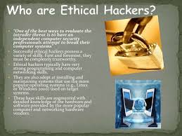 hacking ppt what do ethical hackers do