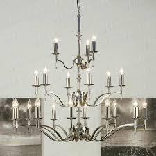 stratton chrome 21 light chandelier