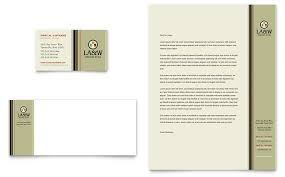 Professional Letterhead Templates Gorgeous Lawyer And Law Firm Business Card And Letterhead Template Design By