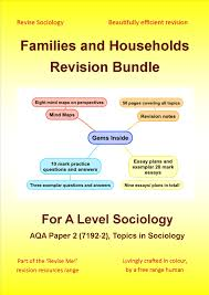 a level sociology families and households revision bun a level sociology families and households revision bundle