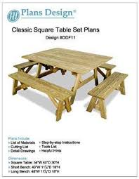 traditional round picnic table benches woodworking plans odf04 plans design