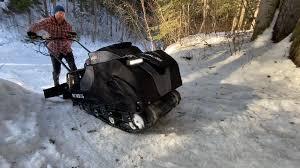 snowdog packs summer trails into winter
