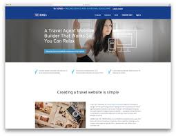 Tourism Web Design Inspiration 22 Best Travel Agency Website Builders 2019 Colorlib