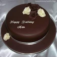 Happy Birthday Cake For Men Abc Birthday Cakes